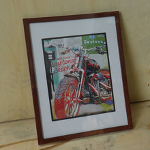 Paper Craft Picture Frame Mountain Bike Sports Picture Photo Frames