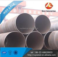 Boai Export First Grade chrome steel tube ERW 7 to 18 Inch Galvanized Pipe Tubes