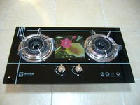 Black Design 2 burners Built-in gas hob(RD-BI003)