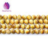Natural golden tiger eye beads Golden tiger eye gemstone beads wholesale