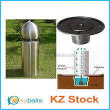 250 300 350 400mm brushed stainless steel hollow balls