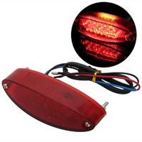 28 LED UNIVERSAL MOTORCYCLE MOTORBIKE REAR TAIL BRAKE STOP LIGHT NUMBER PLATE