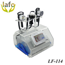 LF-114 Portable Face Lifting BIO Microcurrent 40k Cavitation RF Vacuum Machine / Newest weight loss technology cavitation fat