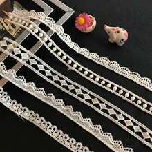 China supplier elastic bridal lace trim for wedding dress