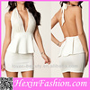 Accept Paypal Fashion Ladies Korean Sexy Club Dresses