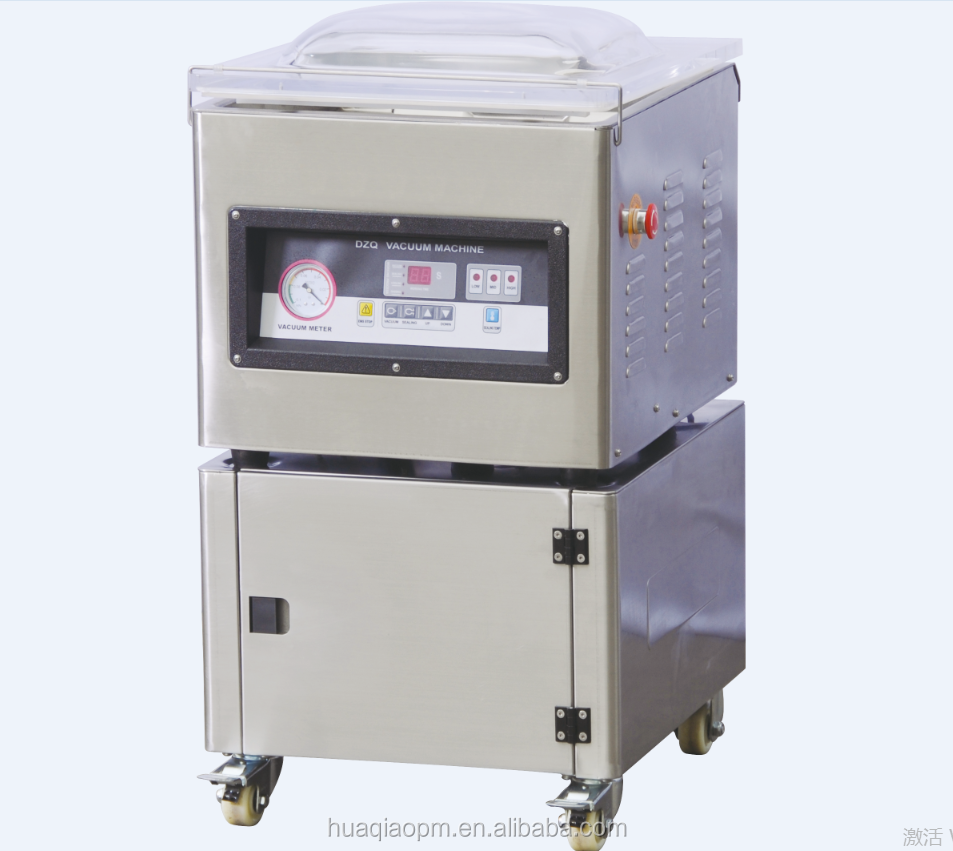 DZ-500 Table top professional single chamber automatic Vacuum Packing Machine DZ-500 , double sealing bar, embaladora al vacuo