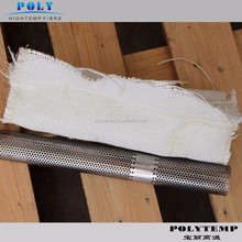 exhaust insulating wrap for truck muffler