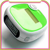 Distance and calories red solar pedometer