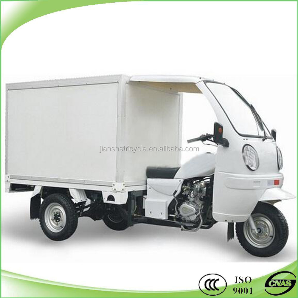 new design popular 3 wheel trimotos with closed box