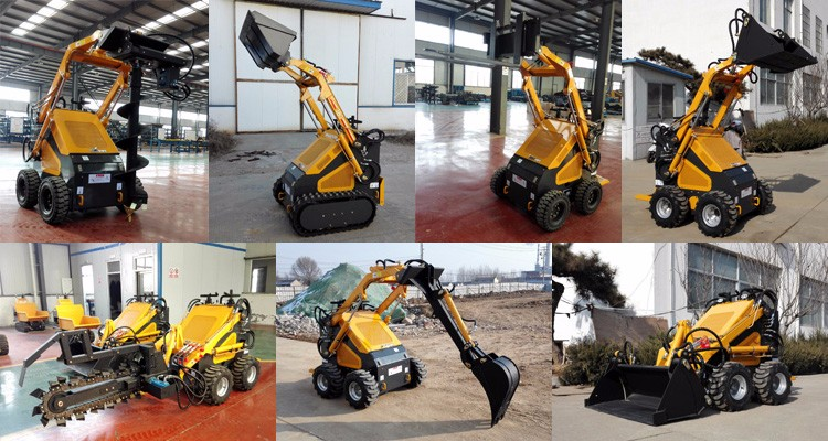 HYSOON mini skid steer loader like mattson for sale