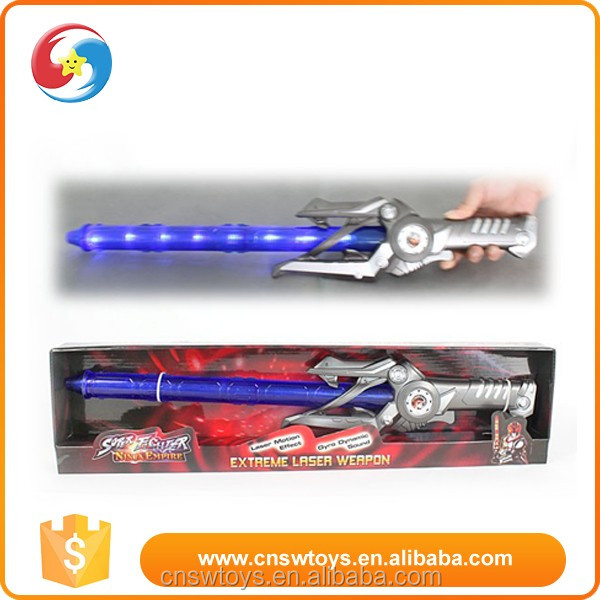 2015 New arriving super long flashing plastic sword toy for child