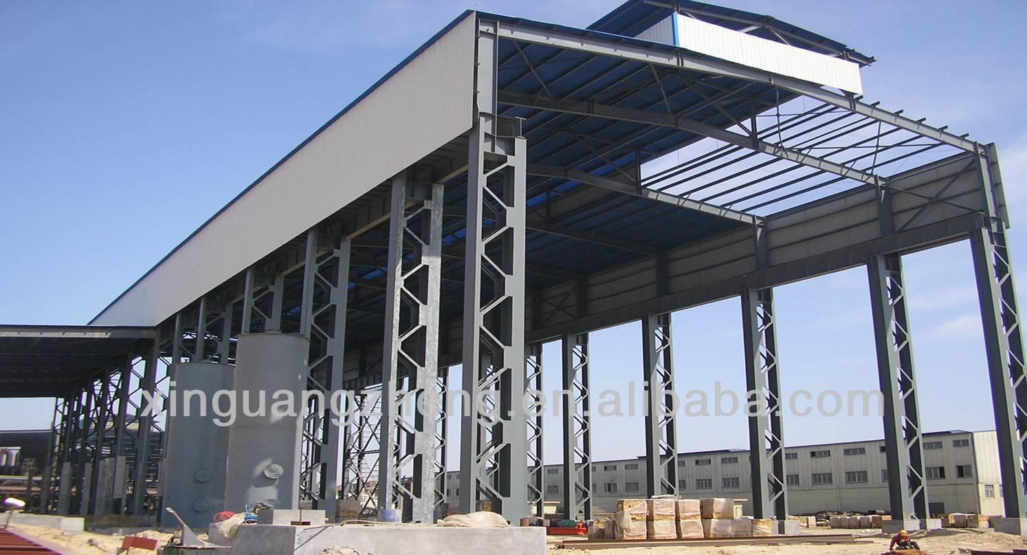 Estructuras metalicas para edificios, galpones, naves, fabricas ...