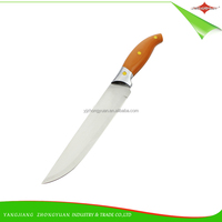 ZY-B11503 8 inch excellent quality stainless steel chef knife kitchen knife with 3 rivets PP handle