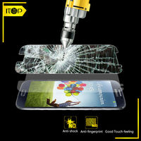 China Manufacturer supply mobile accessory Paypay accepted tempered glass screen protector For Samsung galaxy S4 9500