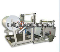 Tissue paper slitting machine
