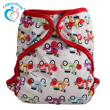 Double Gussets Double PUL Cover Baby Nappy Cover