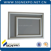 Aluminum wall mounted Picture Frames