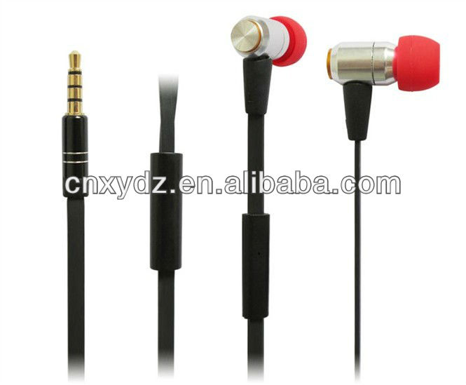 Flat cable cool design high end vox earphone