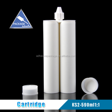 Ks2 590ml 1:1 plastic chemical glue stick container