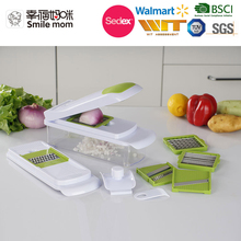Easy to use and disassemble to wash multifunction manual slicer grater dicer vegetable cutter fruit salad machine
