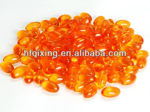 High quality Sea buckthorn seed oil capsule
