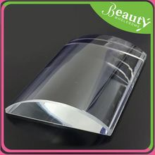 U type curved crystal glass glue pallet ,h0tAN crystal glue pallet for eyelash extension for sale