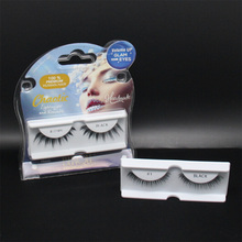 Transparent PS blister tray for eyelash packaging