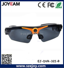 HD 720P Remote Control Sunglasses Camera with 5.0 Mage Pixels, Support TF Card EJ-DVR-32I-B