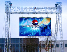 CE& RoHS outdoor rental led video display p4.81 rgb display module