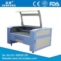 SF1390E senfeng laser latest product economic fabric cutting machine