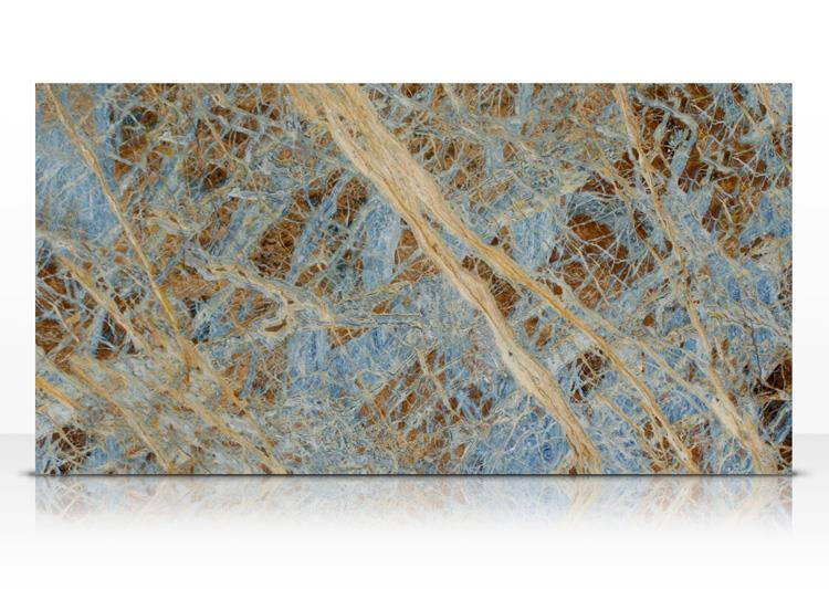 Inexpensive wall designs natural stone blue marble stone slab