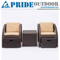 Creative Multifunction Outdoor Leisure Beach Chair High End Wicker Furniture Bali Rattan Outdoor Lounge Furniture