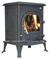 classic cast iron fireplace and stove(JA042)