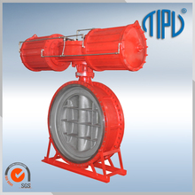 Double Flange Triple Offset Butterfly Valve With Pneumatic Actuator