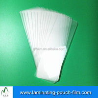 For Book lovers Glossy Bookmark Laminating Pouches Films 41*124mm