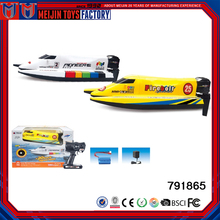 Factory customized plastic floating toy rc boats for sale