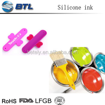 Fire resistant spray silicone rubber painting ink with good price