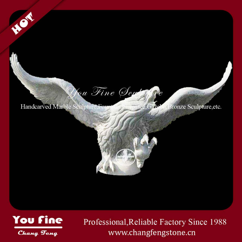 Large Beautiful Artificial Flying Eagle Sculpture