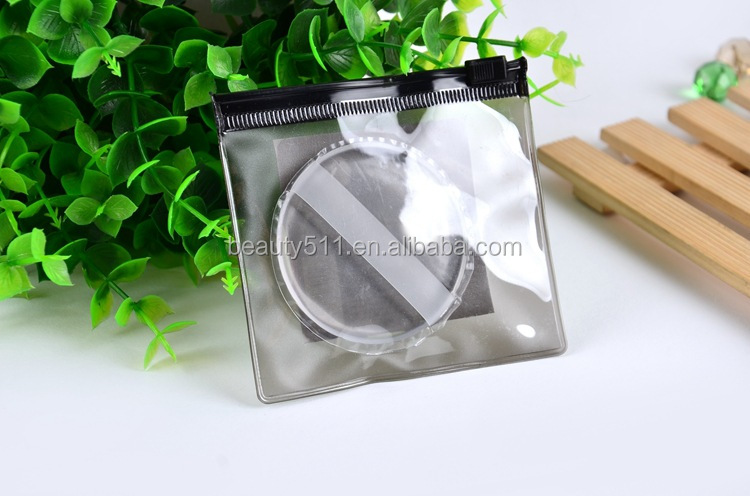 New style Professional Airpillow BB Transparent jelly Silicone Cosmetic powder puff
