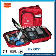 Hiking First Aid Kits , Customized Empty Plastic First Aid Box