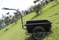 New products!!! good two-wheel small garden trailers