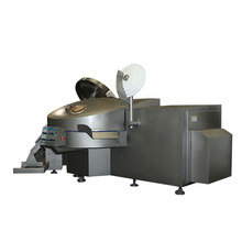 CE ISO ZBZ meat processing equipment Vacuum meat bowl chopper machine