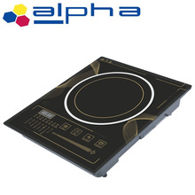 Durable plastic housing material and CE certification kitchen appliance induction cooker