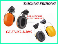 CE EN352-3:2002 industrial ear muff for safety helmet