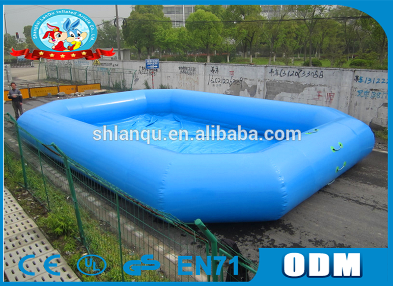 rectangle Custome Inflatable Swimming Paddling Pool for Kids Play