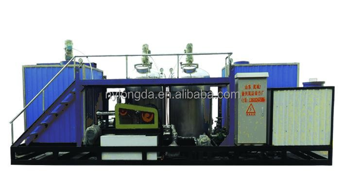 Emulsified asphalt plant,asphalt emulsification machine for sales