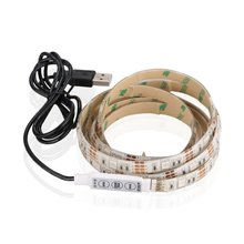 Wholesale usb color changing flexible 0.5m rgb flashing led string lights