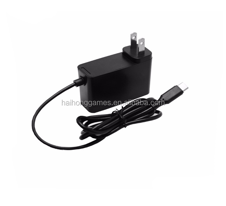 Hot Sell AC DC Adapter Wall Charger for Nintendo Switch US EU UK Plug