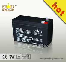 Vrla battery UPS battery 12V 9AH rechargable agm batteries for UPS / alarm system