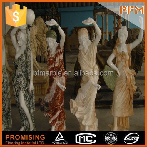 2014 PFM hot sale natural marble made hand carved sculptures with horse face